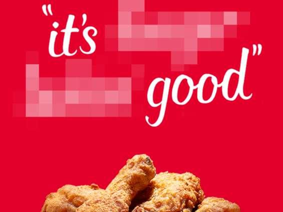 KFC po 64 latach zmienia slogan reklamowy