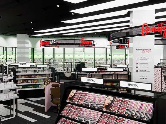 Sephora zmodyfikowała flagowy salon w warszawskiej Arkadii