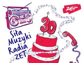 Radio Zet z ekomuralem na urodziny