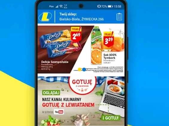 Lewiatan uruchomił aplikację mobilną