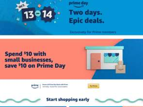 Amazon Prime Day w tym roku 13 i 14 października