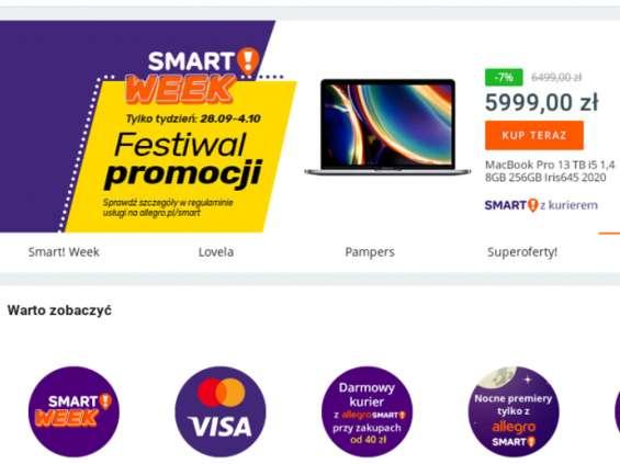 Big Picture odpowiada za komunikację Allegro Smart!Week