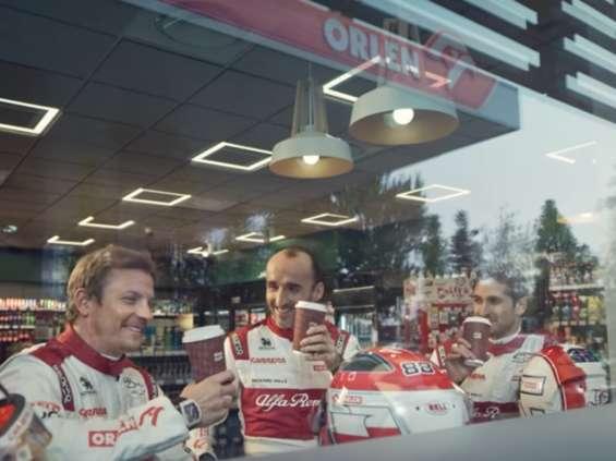 Zawodnicy zespołu Formuły 1 w kampanii Orlenu [wideo]