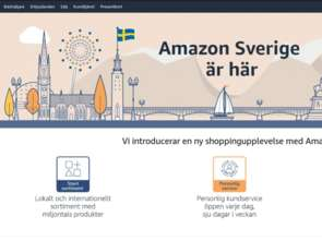 Amazon otwiera sklep internetowy w Szwecji