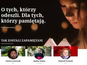 Nowa formuła serwisu Odeszli.pl