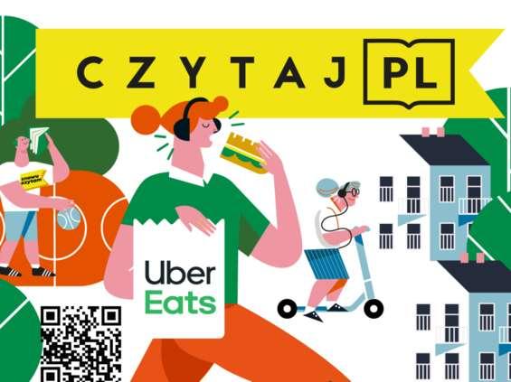 Uber Eats wspiera akcję promowania czytelnictwa Czytaj PL