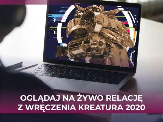 Kreatura 2020: ogłoszenie wyników online 25 listopada