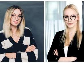 Agnieszka Pawełek i Katarzyna Piskorz w agencji Słucham
