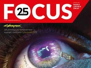 """Historyczna okładka magazynu """"Focus"""""""