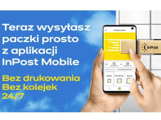 InPost wdrożył nową usługę nadawania paczek przez aplikację