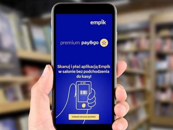 Empik uruchamia mobilne płatności Premium Pay & Go