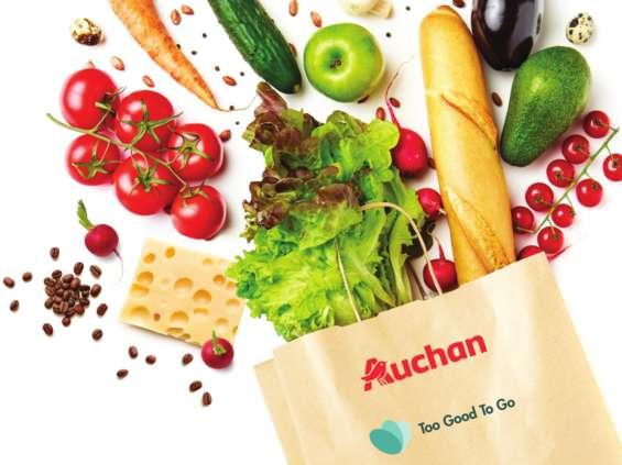 Auchan nowym partnerem aplikacji Too Good To Go [wideo]