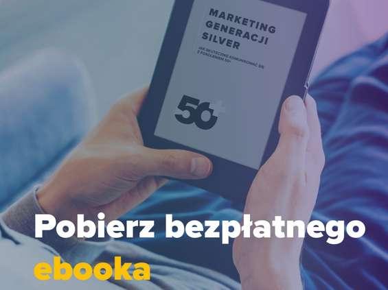 """Książka """"Marketing generacji silver"""" w formie ebooka"""