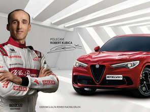 Robert Kubica ambasadorem marki Alfa Romeo w Polsce