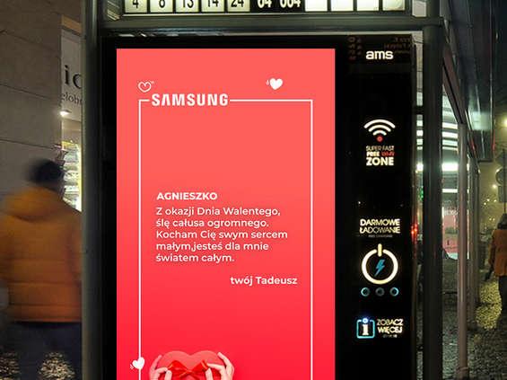 AMS Digital, Samsung i Polkomtel z walentynkową kampanią