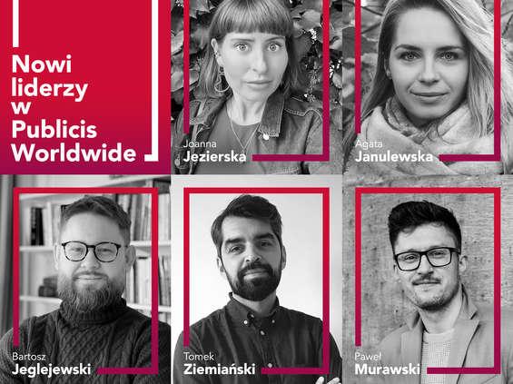 Zmiany w strukturze działu kreacji Publicis Worldwide Polska