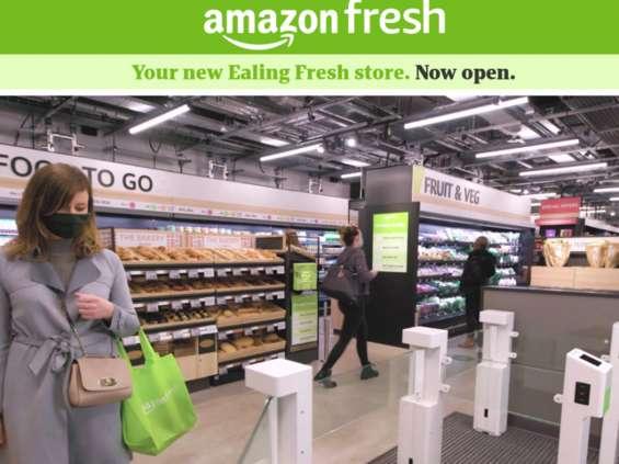 Amazon otworzył pierwszy sklep bez kas w Londynie