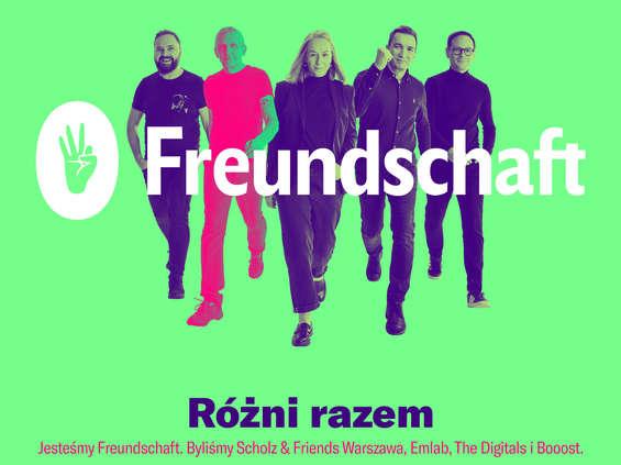 Scholz & Friends Warszawa zmienia nazwę na Freundschaft