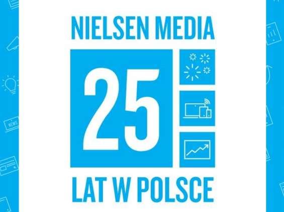 Nielsen świętuje 25 lat pomiaru mediów w Polsce
