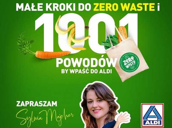 """Sylwia Majcher ambasadorką programu """"Małe kroki do zero waste"""" w Aldi Polska"""