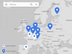 Google Cloud Warszawa już działa
