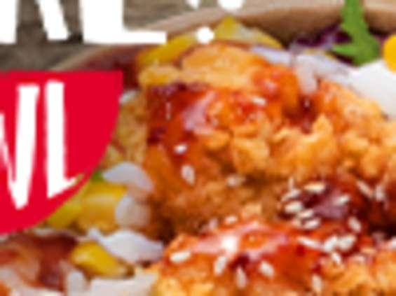 KFC wprowadza nowe menu KFC Poké Bowl
