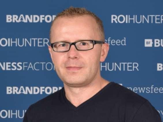 Michał Kidała jako country director Poland w Business Factory