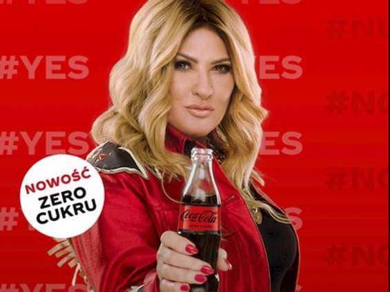 Beata Kozidrak w reklamie Coca-Coli Zero Cukru [wideo]