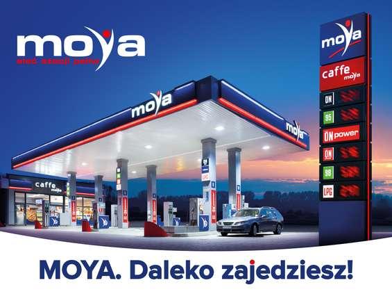 Wizerunkowa kampania stacji paliw Moya