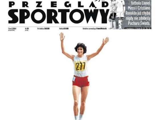 """Irena Szewińska Sportowcem 100-lecia w plebiscycie """"Przeglądu Sportowego"""" [wideo]"""