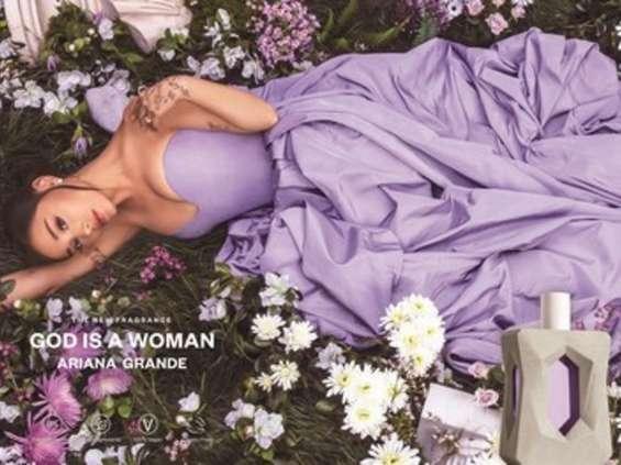 Ariana Grande wprowadza na rynek zapach God is a Woman