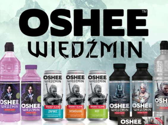 Oshee  i CD Projekt Red wprowadzają napoje sygnowane marką Wiedźmin