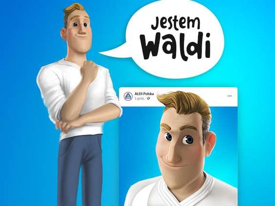 Waldi jako brand hero sieci Aldi