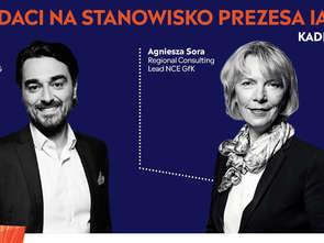Agnieszka Sora i Jovan Protić kandydatami na stanowisko prezesa IAA Polska