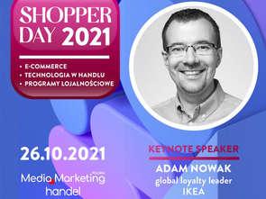 Adam Nowak, global loyalty leader IKEA, otworzy konferencję Shopper Day