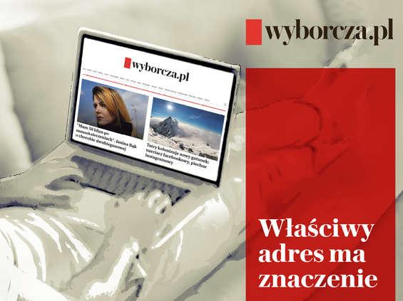 """""""Gazeta Wyborcza"""" do czytania wyłącznie na Wyborcza.pl"""