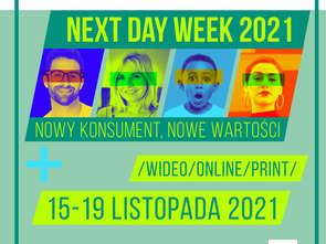 Next Day Week  już 15-19 listopada 2021
