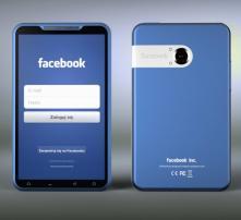 Projekt smartfona FB wg Michala Bonikowskiego