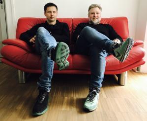 od lewej: Krzysztof Iwiński, Paweł Heinze