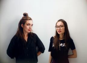na zdjęciu od lewej: Agnieszka Nowak,  Agnieszka Le Hong