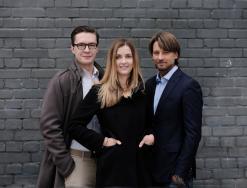 od lewej: Michał Cortez, Agnieszka Sitarczuk, Igor Kaleński
