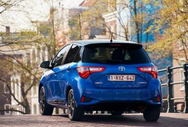Yaris był najchętniej kupowanym przez klientów indywidualnych samochodem w 2017 r.