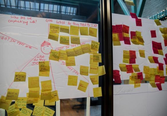 Praca koncepcyjna w inkubatorze Visa w Warszawie