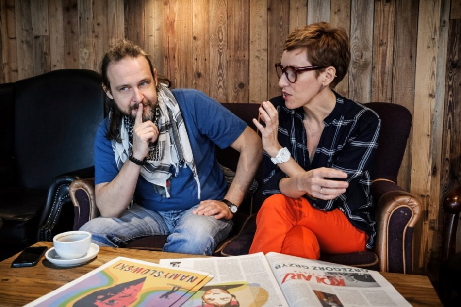 Jerzy Szczerbakow i Agnieszka Holwek. Fot. Piotr Gruchała