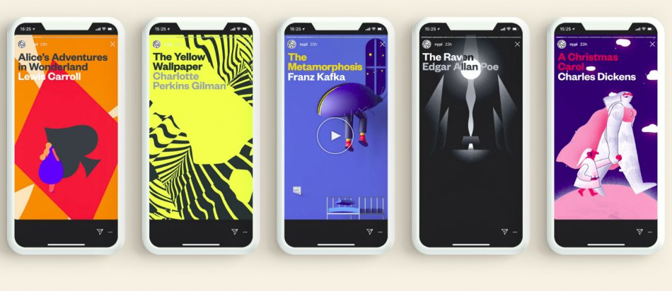 """Best of Design: The New York Public Library New / Mother New York """"Insta Novels"""""""