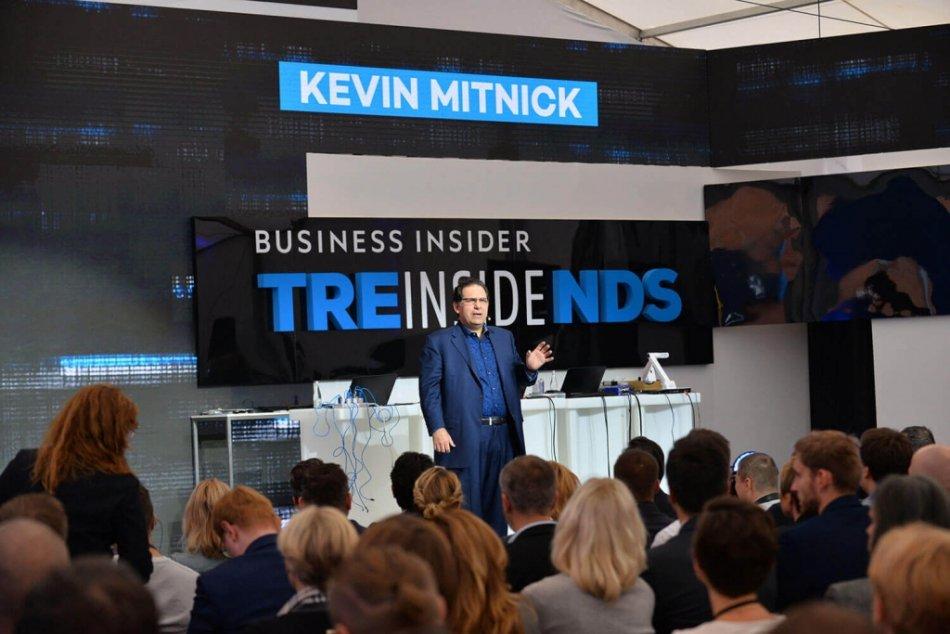 Kavin Mitnick wystąpił na festiwalowej scenie Business 4.0 w ubiegłym roku