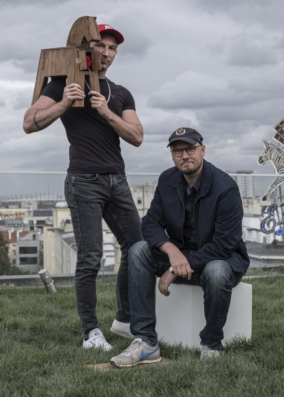 Od lewej: Tomasz Bujok i Michał Sęk
