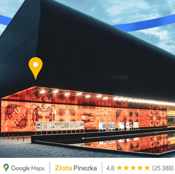 Zoo Wrocław Afrykarium otrzymało jedną z 16 Złotych Pinezek głosami użytkowników Google Maps. Zdjęcie z bloga Google Polska.